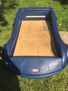 Toddler little Tikes Car Bed