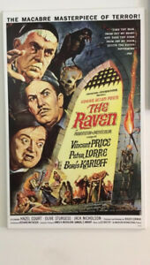 Vincent Price/Edgar Allan Poe The Raven poster - on Plak-It