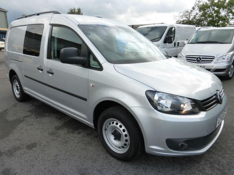 2013 Volkswagen Caddy C20 MAXI 5 seat COMBI, AIR CON, NAV, FSH, NO VAT, SUPERB