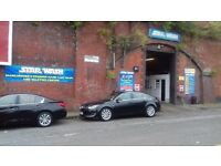 """Car valeter wanted at """"STAR WASH""""car wash based in Ardwick."""