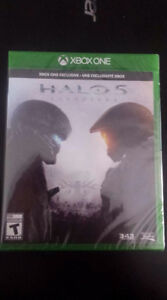 New - Halo 5 Guardians Disc Copy, Factory Sealed