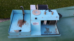 Lapidary machine used for cutting jewelry stones