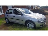 VAUXHALL CORSA * 1.2 * 2005 MODEL * MOT TIL MAY 2018 * IN VERY GOOD CONDITION * £1150