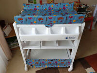 Baby Wearer Bath and Changing Unit White Colour