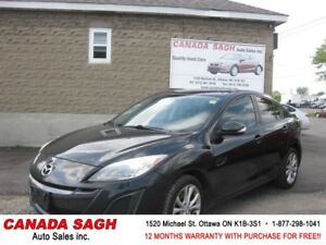 2010 Mazda Mazda3 GT 2.5 , LOADED UP ! 12M.WRTY+SAFETY $5690