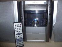 Sharp Micro component system XL-HP535E including remote control