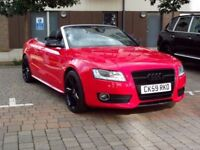 Audi A5 2.0 TFSI Convertible Full Service History Hpi Clear