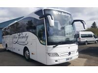 Competitive quotes for Luxury Executive Coach & Mini-Coach hire 22 - 70 seaters 1st Class Service**