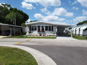 Double wide mini home Largo/Clearwater florida