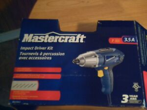Mastercraft 3.5A 1/4-in impact driver