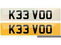 Personal number plate