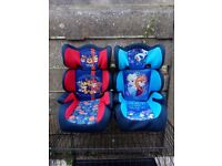 TWO LOVELY CAR SEATS for sale