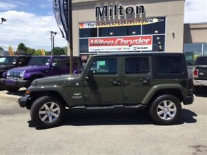 2015 Jeep WRANGLER UNLIMITED SAHARA|NAVIGATION|TRAILER TOW|REMOT