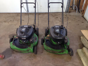 Two 6.5 hp Lawnboys