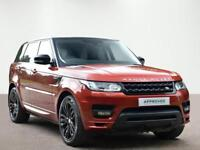 Land Rover Range Rover Sport SDV6 AUTOBIOGRAPHY DYNAMIC (red) 2013-09-20