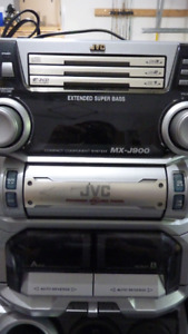 JVC Compact Component Stereo System/Basston Speaker