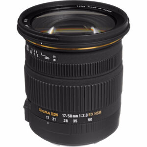 Sigma 17-50 f2.8 Lens for Canon