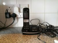Phone with answerphone
