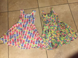 Girls Size 5/6 Dresses - Macaroons and Jelly Beans!