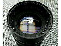 M42 screw manual 135 mm lens.