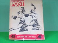 Picture Post magazine 1st June 1957, the last issue
