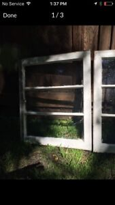 A couple of Wooden Frame Windows!