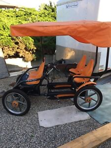Berg 4 seater bike