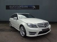 Mercedes C Class 2.1 C 220 CDI BLUEEFFICIENCY SPORT EDITION 125 (white) 2012
