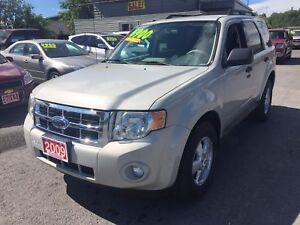 2009 Ford Escape XLT Manual