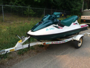 Sea Doo and trailer low mileage