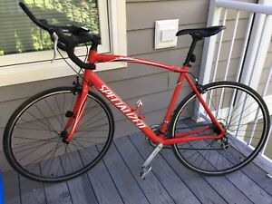 Specialized Allez road bike and clothing/gear for sale