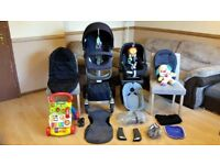 Stokke Xplory V4 Complete Pushchair Stroller Maxi Cosi Pebble Plus Car Seat And More