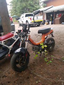 2008 tomos arrow moped 49cc