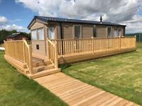 New static caravan holiday lodge north Yorkshire east coast costal position