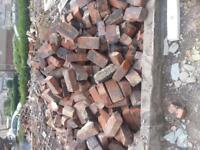 Red bricks £10.00 per 100