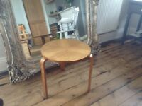 Antique Art Deco side table Norwegian?