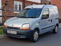 Renault Kangoo 655 1.9 D Diesel (2000/X) + GENUINE 45K MILES + FSH + 1 LADY OWNER + PANEL VAN +