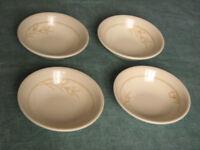 5x cups & saucers + 4x bowls Biltons England Spring Bouquet Crocus design crockery tableware