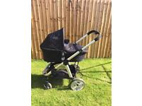 iCandy Apply 2 Pear Stroller and Carrycot Combo in Caviar