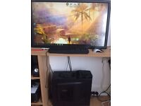 "Cheap i3 Gaming PC with 40"" Monitor!"