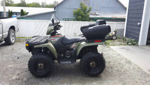 Vtt polaris sportsman 400 4x4 bas millage.
