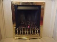 Gas fire, real flame, beautiful, cost over£500 new, installed and removed by a gas enginer