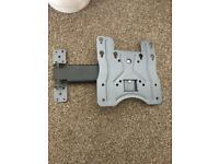 Tv swivel and tilt wall bracket