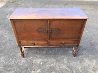 Vintage 1930's Oak Sideboard by C.W.S Ltd For Sale