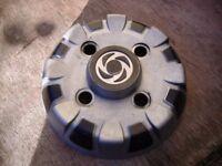 set of vintage mini wheel trims