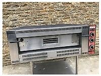 gas pizza oven on stand