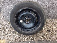 16 inch spare wheel with tyre, size 2055516. was from a 2011 megane.