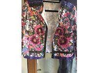 ASOS multi coloured jacket short jacket, wore twice, size 12