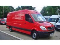 2009 MERCEDES BENZ SPRINTER 2.1 CDI 311 Extra H Roof Van 69K + FSH NO VAT