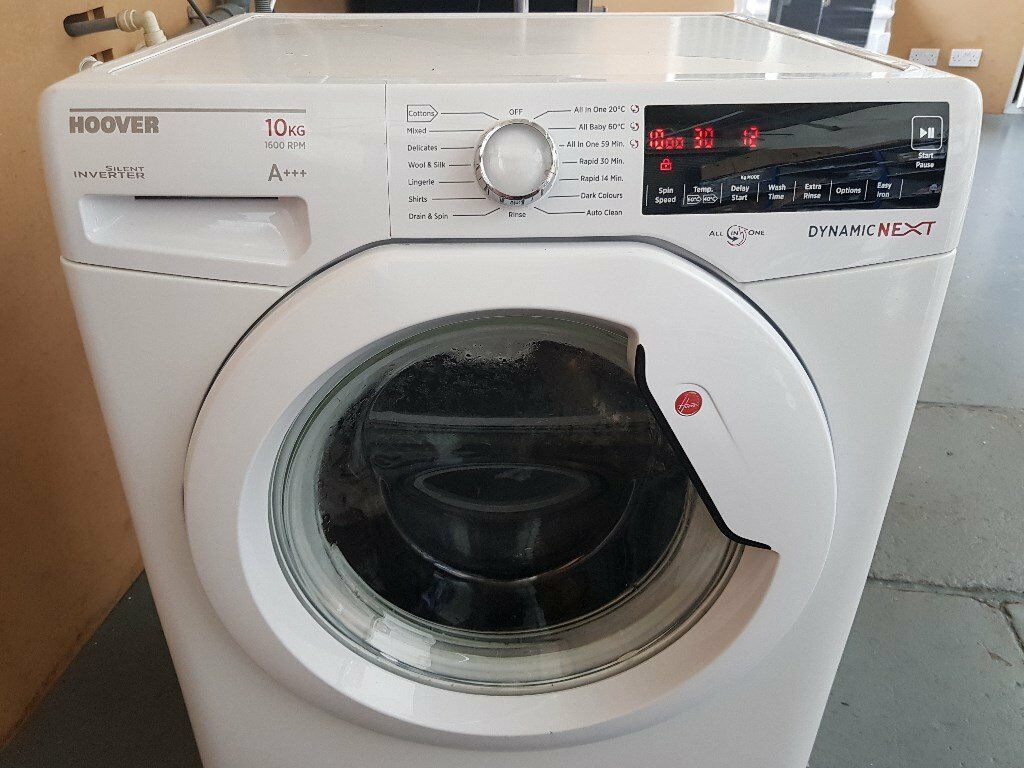 washing machinein Belfast City Centre, BelfastGumtree - hoover 10kg 1600 spin 115 pound recondition few marks here and there ring 07923273079 for more infor